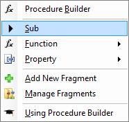 Sub function