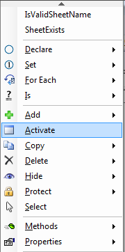 Activate a worksheet using vba activate a worksheet ibookread