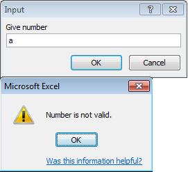 Using excel application inputbox vba