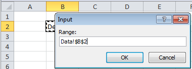 Set range variable using VBA in Excel