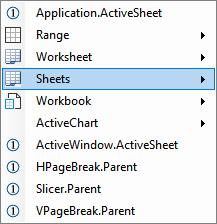 Set Worksheet using VBA