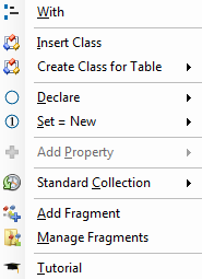 Using Code VBA to create and use classes