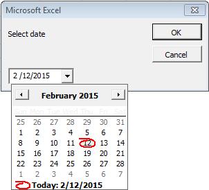 ms access 2016 date picker